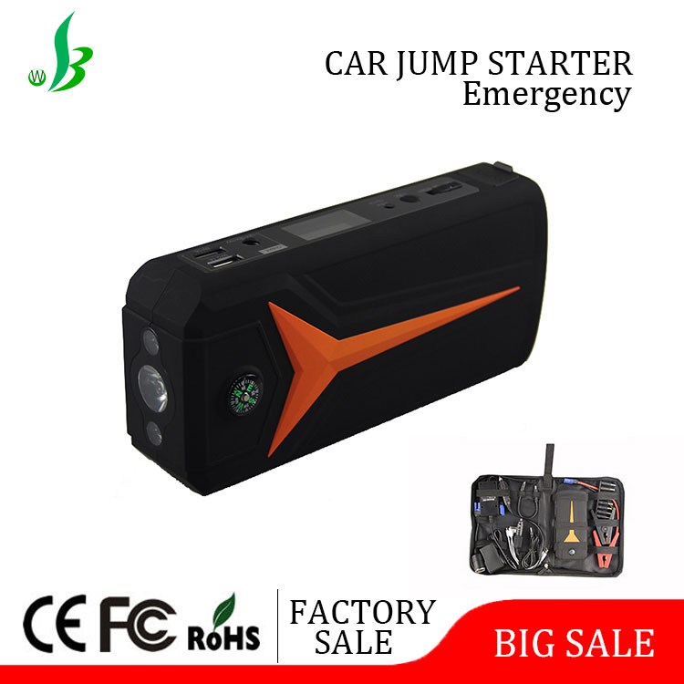 18600mAh Fast Charge Power Station Car Battery Charger with LED light