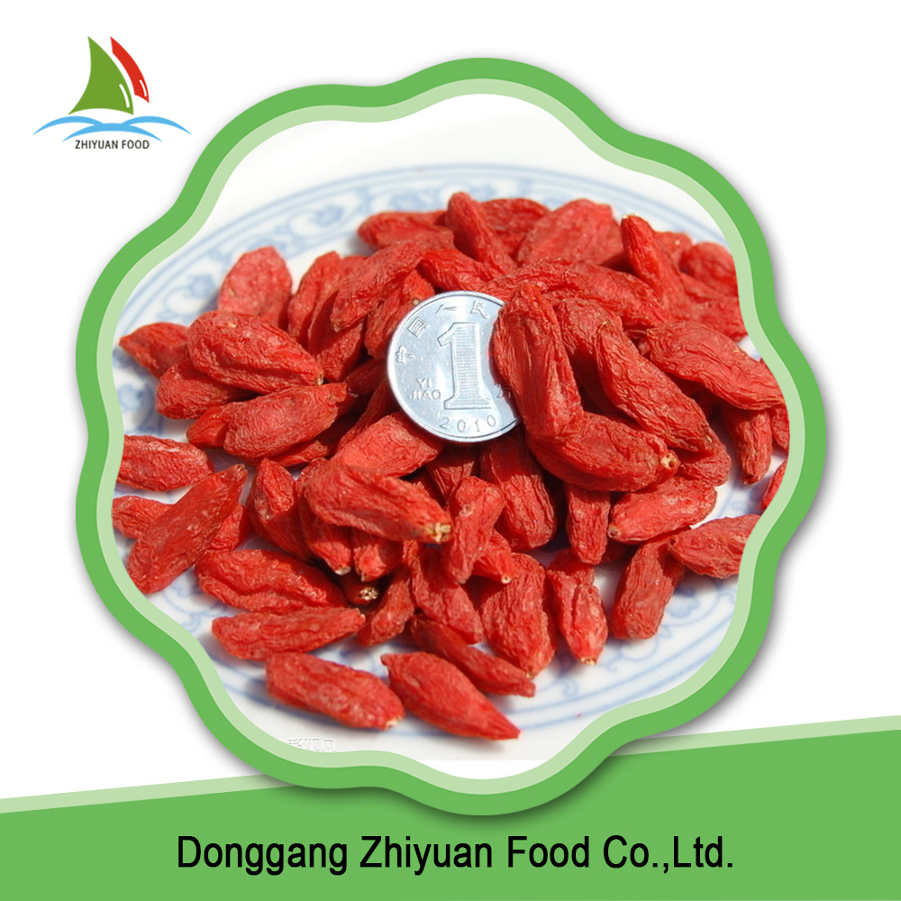 Chinese dried deep red goji berry on sale