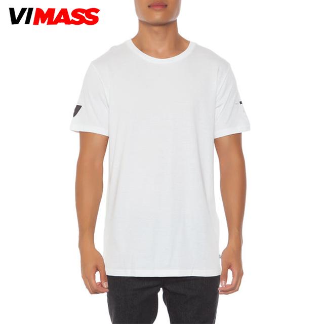 2018 Fashion Men White Tshirt Custom Print