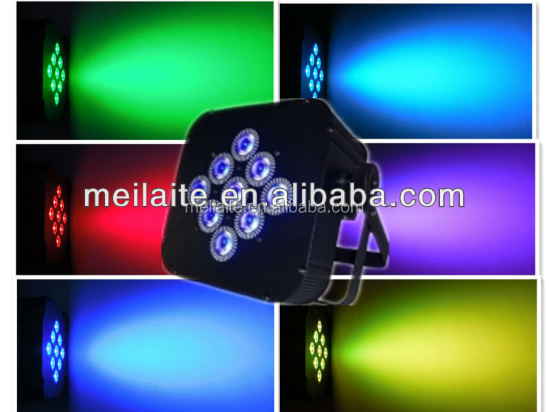 wireless dmx led flat par/wireless dmx led slim par/wireless dmx battery powered led par