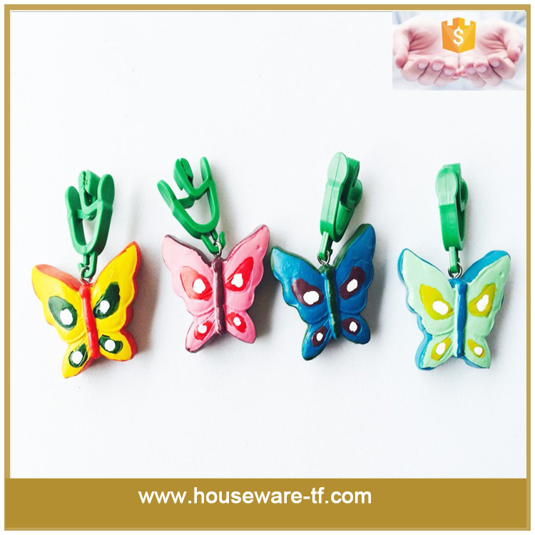 4pcs butterfly tablecloth weight clip