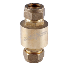 MXF Brass Check Valve with Nuts