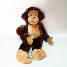 High Quality Cute Sitting Monkey Soft Toy, Stuffed Monkey Toys for sales