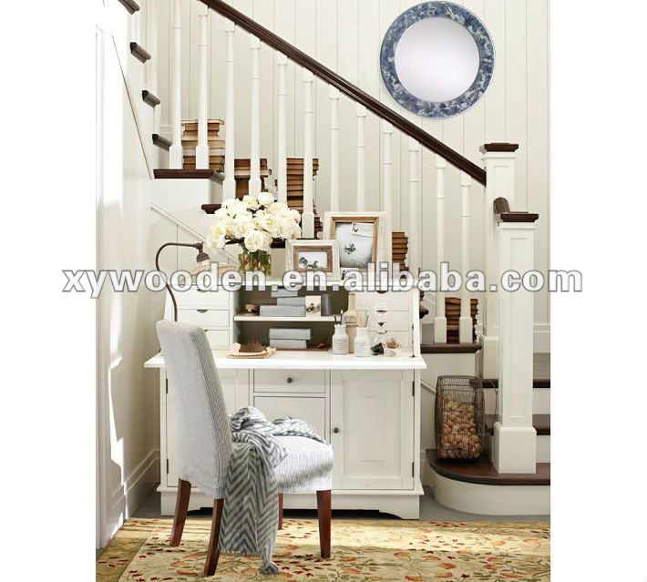 contemporary stairway mirrors