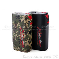 Super quality Variable Volts kamry 200w AK-47 with RDA atomizer vape box mod