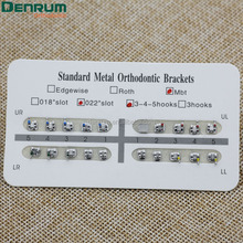 Denrum Orthodontic MIM Mesh Base Bracket MBT Braces