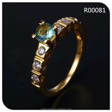fashion fake gold jewellery , female rings , popular design jewellery wholesale