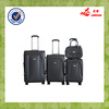 4pcs PU leather wheeled travel car luggage and bags