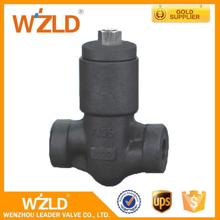 WZLD BS5352 AP1598 Ball Or Swing Type Female Threaded And Socket Welded Check Valve