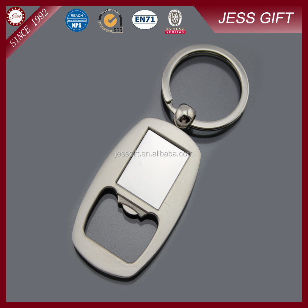 promotional Custom Metal Beer Bottle Opener Keychain