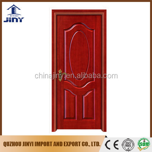 Solid wood veneer door skin interior doors with painting finished