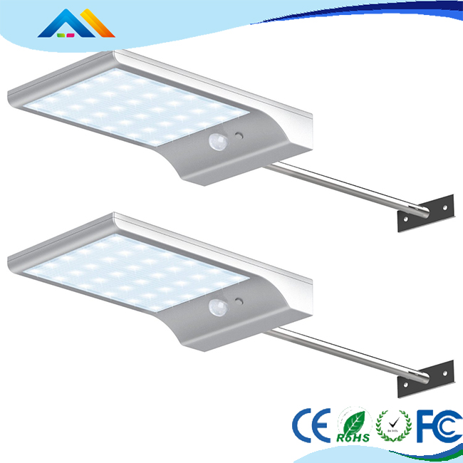 solar lights outdoor Security Light With Motion Sensor Waterproof IP66
