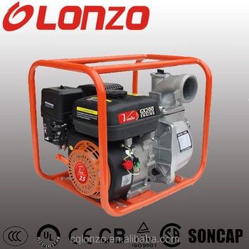New LZQGZ100-28 4 Inch 9Hp Gasoline Water Pump WP40 With CE Certificate