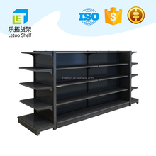 LETUO steel gondola display supermarket shelves