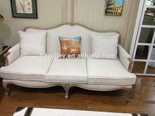 Popular Antique White Color Chaise Recliner Lounge Sofa