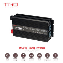 portable pure sine wave power inverter 1000v dc 12/24 to ac 110/220 from China