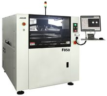 Energy saving full automatic solder screen printing equipment
