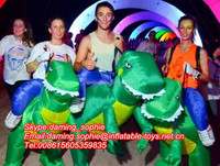 Inflatable Funny Walking Dinosaur Costume for Sale