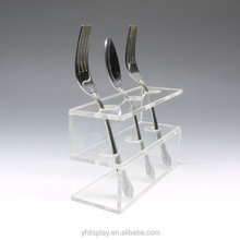 Custom-made Acrylic Spoon and Fork Tableware Display Holder