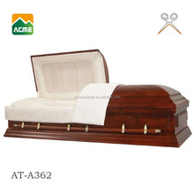 wholesale best price funeral casket bed