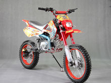 Gas-Powered 110CC Dirt Bike with Aluminum Wheels DB1106
