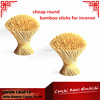 1.3mm Raw Bamboo Stick For Incense With High Quality