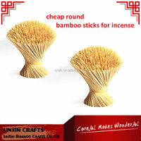 1.3mm round cheap Bamboo Stick for incense