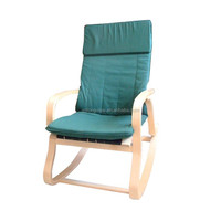 Popular modern outdoor plywood recliner rocking chair