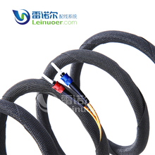 alibaba china market black hose and cable fire resistance sleeving