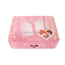 Christmas square candy tin /box /tin can /tin container making machine