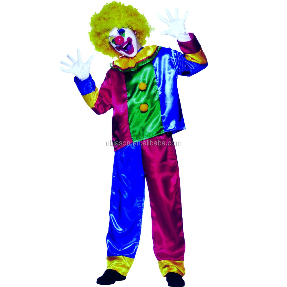 Adult Clown Jumpsuit Party Costume