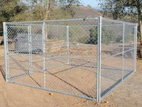 outdoor galvanized cheap chain link dog kennels
