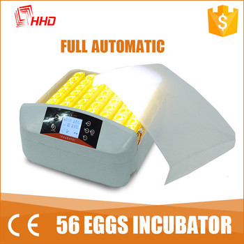 2016 Newest HHD automatic turning led light tester commercial poultry incubator YZ-56S