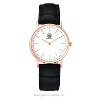 3atm quartz stainless steel back rose gold ladies classic watch 2015