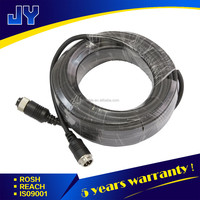 4pin aviation RCA DC cable connected 4.3 Inch TFT Color Car Rearview Monitor