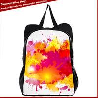 animal colorful custom rucksack custom travelling bags unique rucksacks