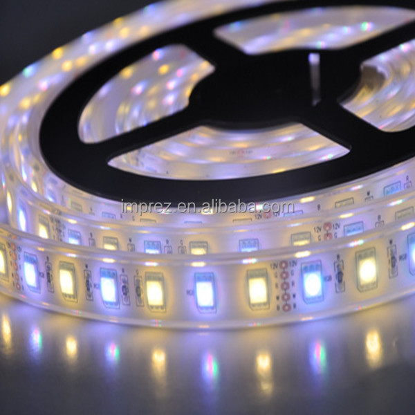 5050 LED strip magic color 60leds waterproof rgbw led strip light