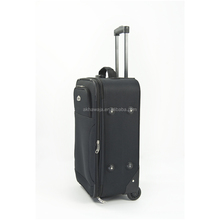 Expandable suitcase cabin case airport brand vintage trolley luggage