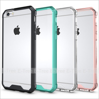 Bumber TPU case for i phone 7 case , silicone phone case for iphone 7 case, transparent case for apple mobile phone
