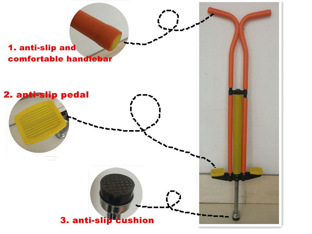 China supplier single pole pogo stick with high quality