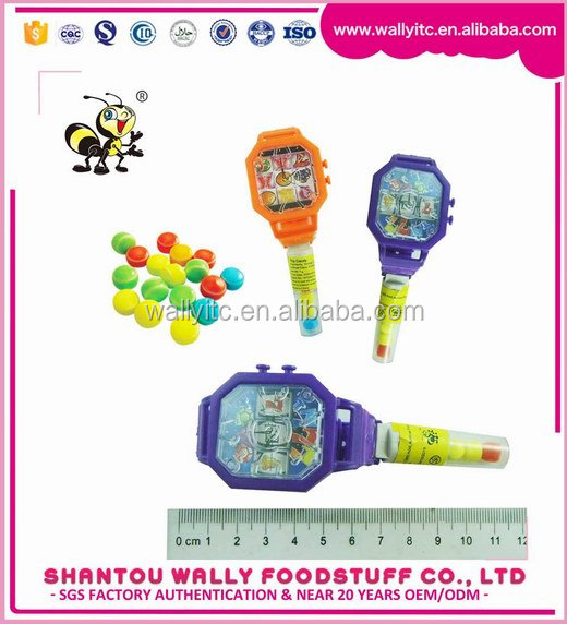 Plastic Inside Watch Toy With Candy