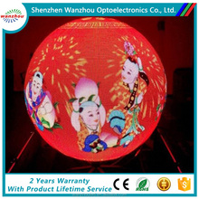 hd full color led ball display p4 p5 p6 indoor Globe LED display,Ball indoor LED sphere display screen sign boards
