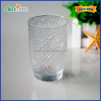 Anhui Glassware Factory Wholesale Suppliers Brand Name 360ml Glass Cup