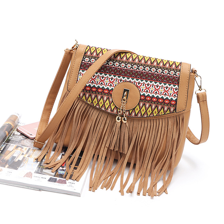 fashion wome handbag female popular tassel chain women bags portable one shoulder elegant messenger
