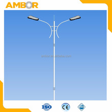 Large diameter electrical led steel transmission line poles