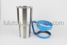 Spill and Splash Proof Lid with Slider Closure for 30 oz Tumblers ,30oz tumbler sliding lid