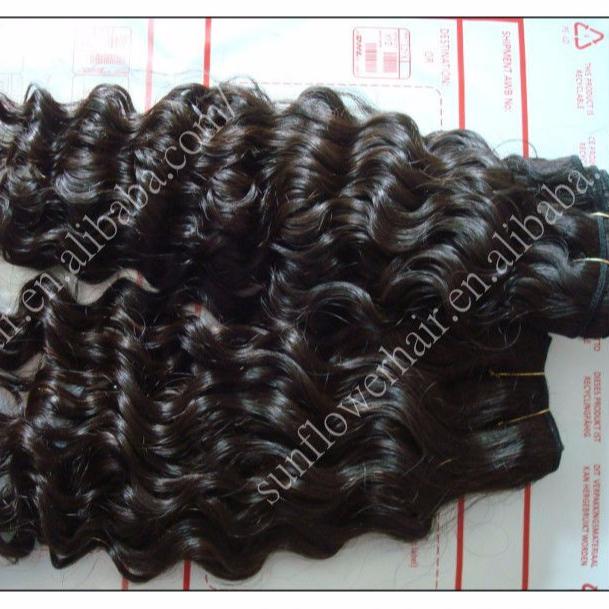 factory price virgin Peruvian hair weaving deep wave hairstyles