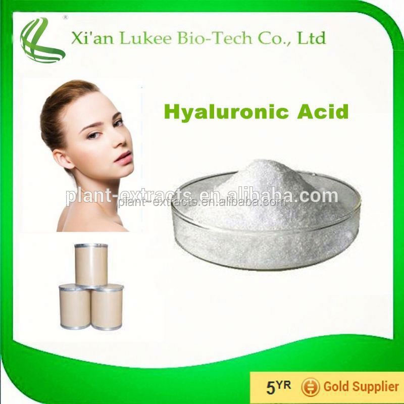 Cosmetic Biological Raw Material 99% Hyaluronic acid(HA)