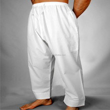Arabic and afghani pants factory cheap wholesale Islamic white arab long pants for men