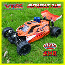 Vrx racing rc car 1:10 nitro gas powered rc cars en Juguetes <span class=keywords><strong>de</strong></span> radio control rc 1/10 nitro rc coche, top 10 nitro rc car